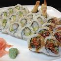 popular combo - California, Dynamite and a BC roll