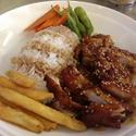Chicken Teriyaki with rice Entree